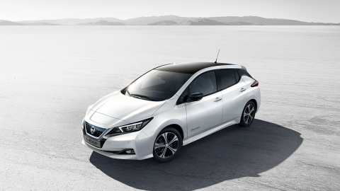 Afbeelding voor Nieuwe Nissan LEAF - 62 kWh - 385 km bereik